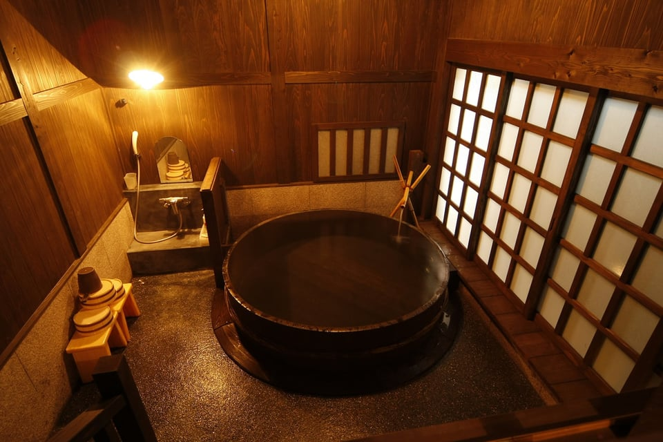 山水(樽風呂)